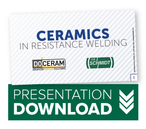Ceramics In Resistance Welding