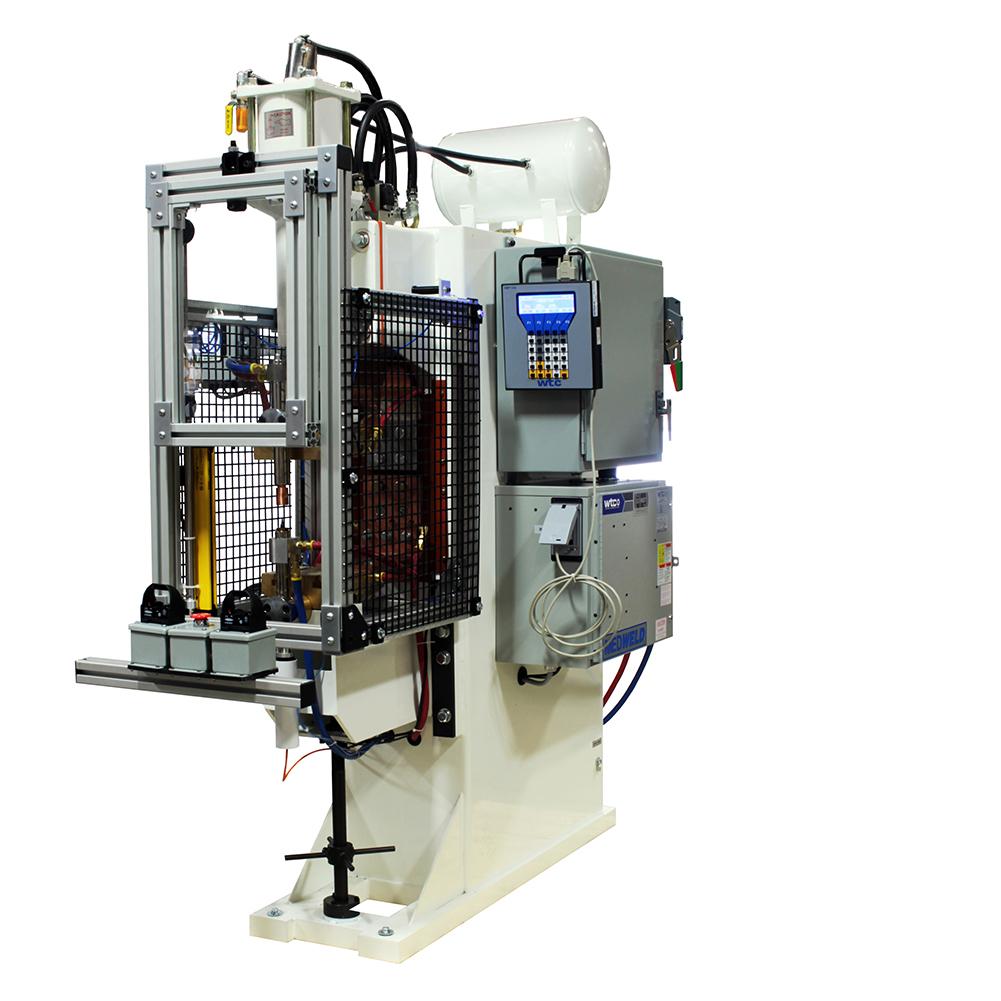 ProLine Size 1 Resistance Nut Welder with WTC Weld Control, RoMan Transformer & ProLine Nut Verification System