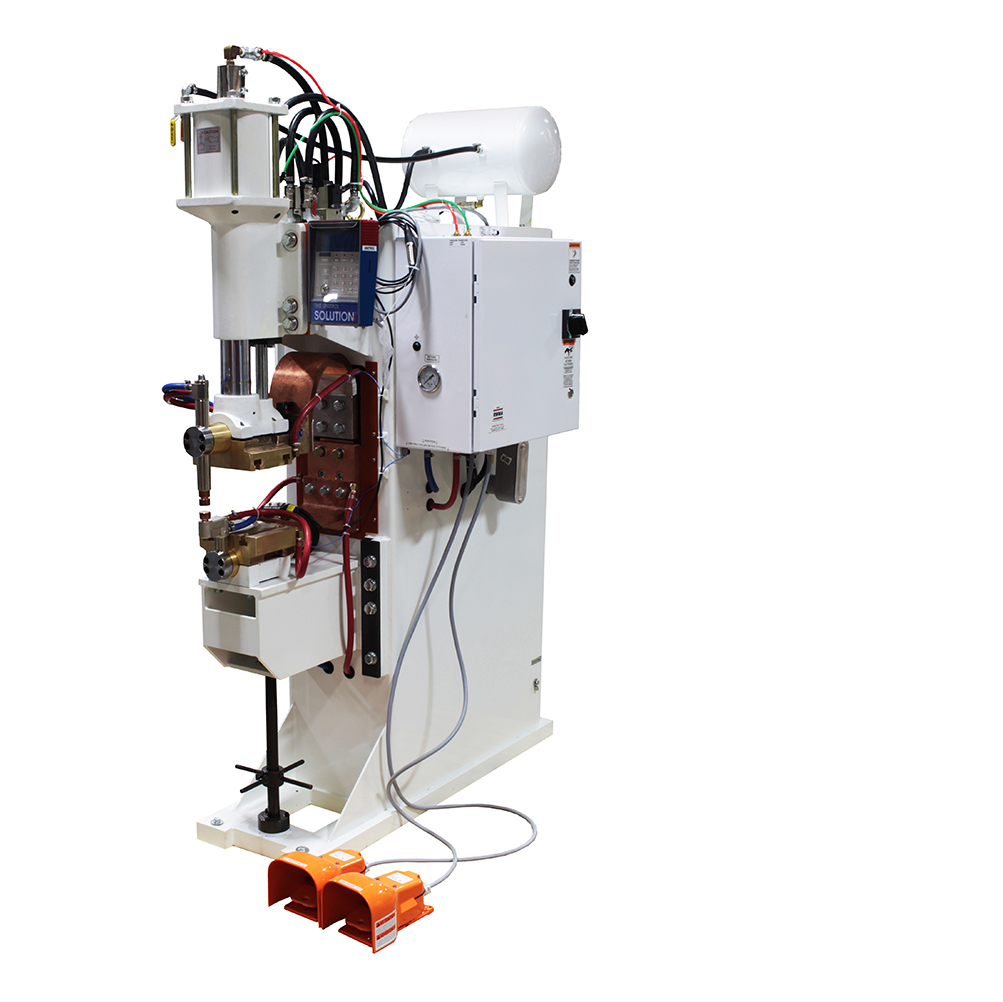 ProLine Size 1 Spot Welder with Unitrol Soft Touch Pinch Point Safety System and Unitrol Solution Weld Control and RoMan Weld Transformer