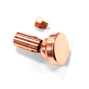 Swivel-Tim Electrode and Button Electrode for Resistance Welding